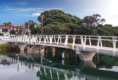 Milford Marina Footbridge - Bascule Footbridge Auckland, NZ