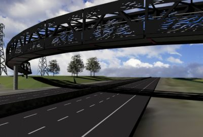 Pescara Pt Cycle bridge concept - Auckland NZ